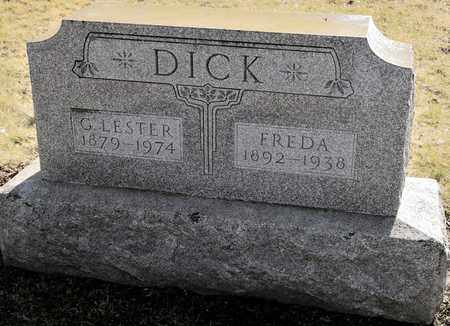 DICK, G LESTER - Richland County, Ohio | G LESTER DICK - Ohio Gravestone Photos