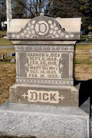 DICK, MARY - Richland County, Ohio | MARY DICK - Ohio Gravestone Photos