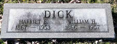 DICK, HARRIET B - Richland County, Ohio | HARRIET B DICK - Ohio Gravestone Photos