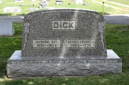 DICK, HARMON RAY - Richland County, Ohio | HARMON RAY DICK - Ohio Gravestone Photos