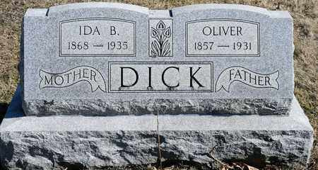 DICK, IDA B - Richland County, Ohio | IDA B DICK - Ohio Gravestone Photos
