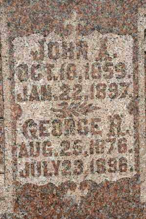 DICK, JOHN A - Richland County, Ohio | JOHN A DICK - Ohio Gravestone Photos