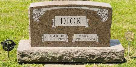 DICK, MARY R - Richland County, Ohio | MARY R DICK - Ohio Gravestone Photos