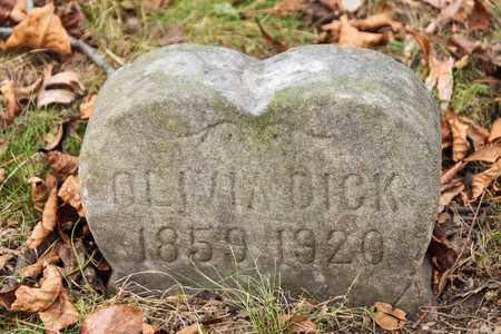 DICK, OLIVIA - Richland County, Ohio | OLIVIA DICK - Ohio Gravestone Photos
