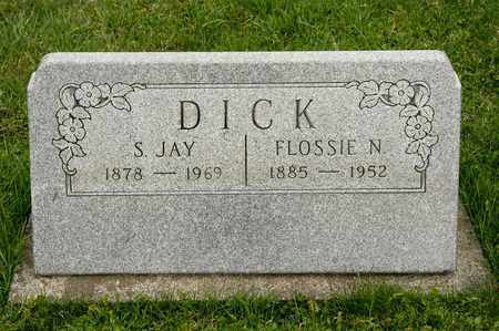 DICK, S JAY - Richland County, Ohio | S JAY DICK - Ohio Gravestone Photos