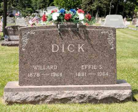DICK, WILLARD - Richland County, Ohio | WILLARD DICK - Ohio Gravestone Photos