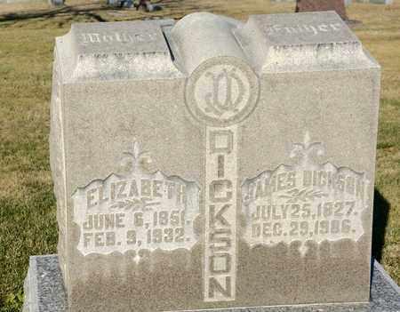 DICKSON, ELIZABETH - Richland County, Ohio | ELIZABETH DICKSON - Ohio Gravestone Photos