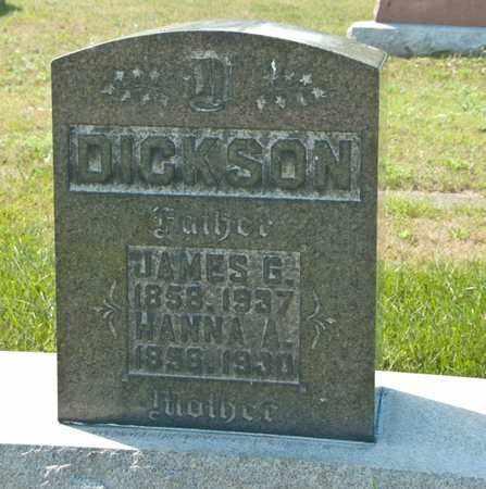 DICKSON, JAMES G - Richland County, Ohio | JAMES G DICKSON - Ohio Gravestone Photos