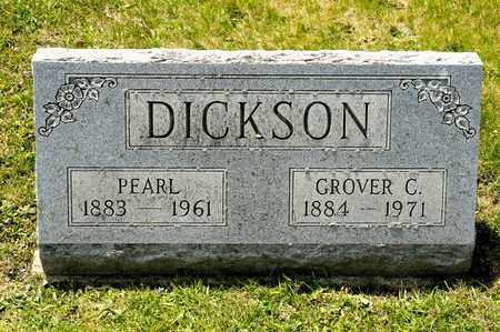 DICKSON, GROVER C - Richland County, Ohio | GROVER C DICKSON - Ohio Gravestone Photos