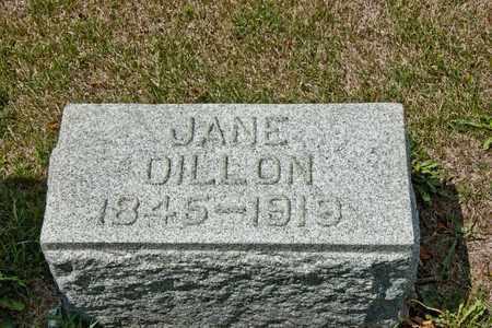 DILLON, JANE - Richland County, Ohio | JANE DILLON - Ohio Gravestone Photos