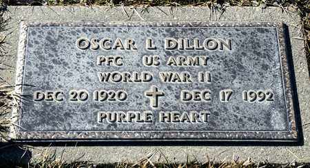 DILLON, OSCAR L - Richland County, Ohio | OSCAR L DILLON - Ohio Gravestone Photos