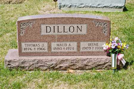 DILLON, MAUD A - Richland County, Ohio | MAUD A DILLON - Ohio Gravestone Photos