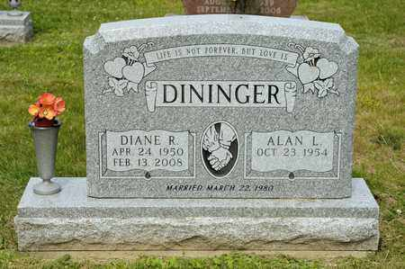 DININGER, DIANE R - Richland County, Ohio | DIANE R DININGER - Ohio Gravestone Photos