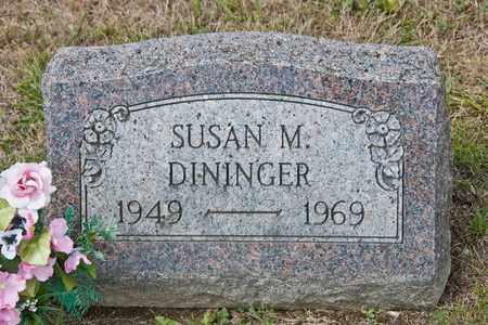DININGER, SUSAN M - Richland County, Ohio   SUSAN M DININGER - Ohio Gravestone Photos