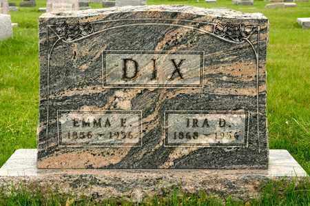 DIX, EMMA E - Richland County, Ohio | EMMA E DIX - Ohio Gravestone Photos