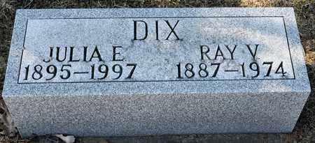DIX, JULIA E - Richland County, Ohio | JULIA E DIX - Ohio Gravestone Photos