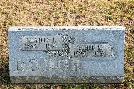 DODGE, ETHEL M - Richland County, Ohio | ETHEL M DODGE - Ohio Gravestone Photos