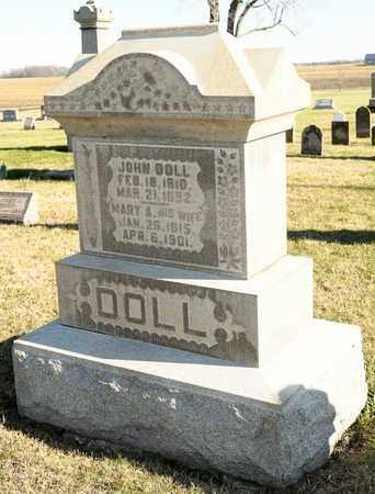 DOLL, JOHN - Richland County, Ohio | JOHN DOLL - Ohio Gravestone Photos