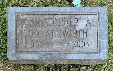 DONNENWIRTH, CHRISTOPHER A - Richland County, Ohio | CHRISTOPHER A DONNENWIRTH - Ohio Gravestone Photos