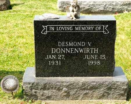 DONNENWIRTH, DESMOND V - Richland County, Ohio | DESMOND V DONNENWIRTH - Ohio Gravestone Photos