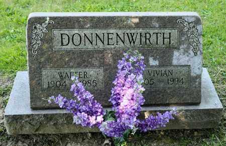 DONNENWIRTH, WALTER - Richland County, Ohio | WALTER DONNENWIRTH - Ohio Gravestone Photos