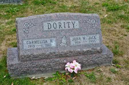DORITY, JOHN W - Richland County, Ohio | JOHN W DORITY - Ohio Gravestone Photos