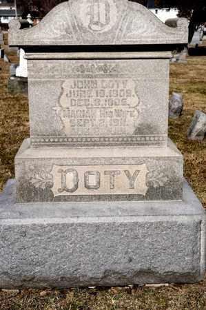 DOTY, DELILAH B - Richland County, Ohio | DELILAH B DOTY - Ohio Gravestone Photos