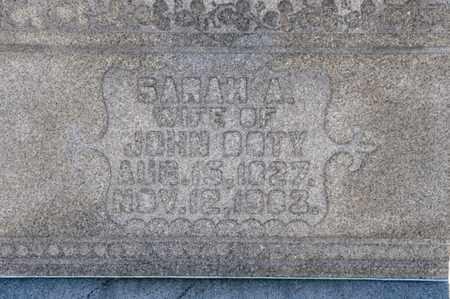 DOTY, SARAH A - Richland County, Ohio   SARAH A DOTY - Ohio Gravestone Photos