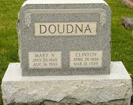 DOUDNA, MARY V - Richland County, Ohio   MARY V DOUDNA - Ohio Gravestone Photos