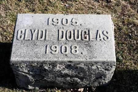 DOUGLAS, CLYDE - Richland County, Ohio | CLYDE DOUGLAS - Ohio Gravestone Photos