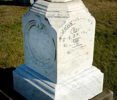 DOUGLASS, JOHN - Richland County, Ohio | JOHN DOUGLASS - Ohio Gravestone Photos
