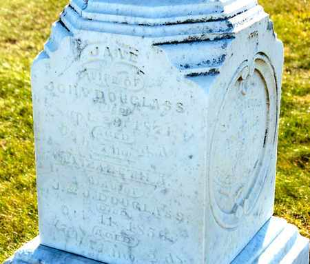 DOUGLASS, JANE - Richland County, Ohio | JANE DOUGLASS - Ohio Gravestone Photos