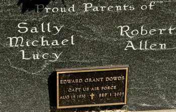 DOWDS, EDWARD GRANT - Richland County, Ohio   EDWARD GRANT DOWDS - Ohio Gravestone Photos