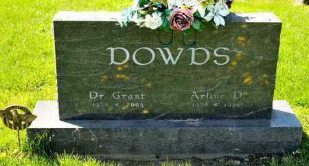 DOWDS, ARLINE D - Richland County, Ohio | ARLINE D DOWDS - Ohio Gravestone Photos