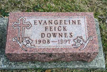 DOWNES, EVANGELINE - Richland County, Ohio | EVANGELINE DOWNES - Ohio Gravestone Photos
