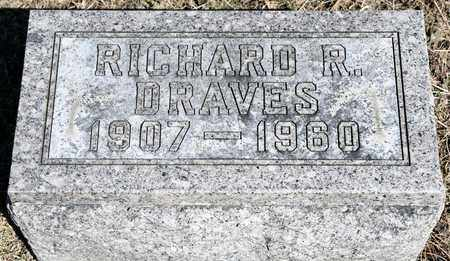 DRAVES, RICHARD R - Richland County, Ohio | RICHARD R DRAVES - Ohio Gravestone Photos
