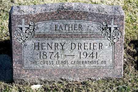 DREIER, HENRY - Richland County, Ohio | HENRY DREIER - Ohio Gravestone Photos