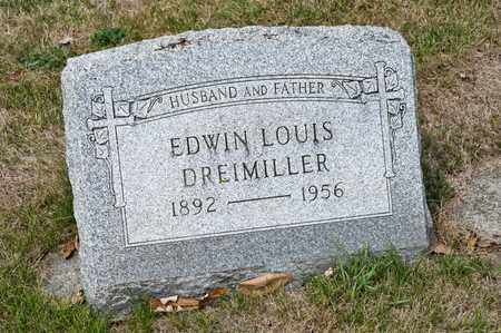 DREIMILLER, EDWIN LOUIS - Richland County, Ohio   EDWIN LOUIS DREIMILLER - Ohio Gravestone Photos