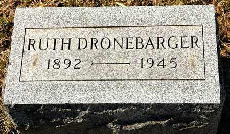 DRONEBARGER, RUTH - Richland County, Ohio   RUTH DRONEBARGER - Ohio Gravestone Photos