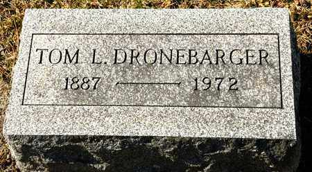 DRONEBARGER, TOM L - Richland County, Ohio | TOM L DRONEBARGER - Ohio Gravestone Photos