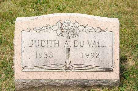 DU VALL, JUDITH A - Richland County, Ohio | JUDITH A DU VALL - Ohio Gravestone Photos