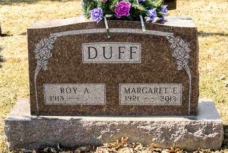DUFF, MARGARET E - Richland County, Ohio | MARGARET E DUFF - Ohio Gravestone Photos