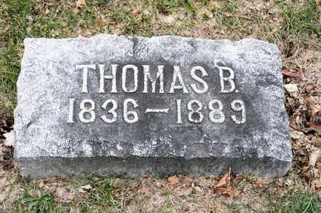 DUNLAP, THOMAS B - Richland County, Ohio | THOMAS B DUNLAP - Ohio Gravestone Photos