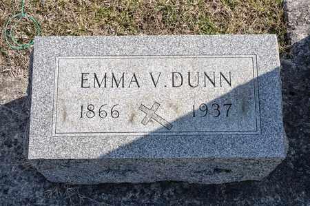 DUNN, EMMA V - Richland County, Ohio   EMMA V DUNN - Ohio Gravestone Photos