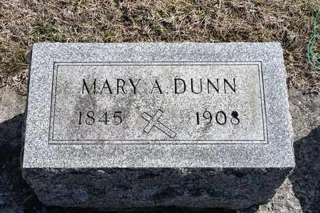 DUNN, MARY A - Richland County, Ohio | MARY A DUNN - Ohio Gravestone Photos