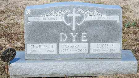 DYE, BARBARA J - Richland County, Ohio | BARBARA J DYE - Ohio Gravestone Photos
