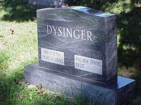 DYSINGER, PALMA - Richland County, Ohio | PALMA DYSINGER - Ohio Gravestone Photos