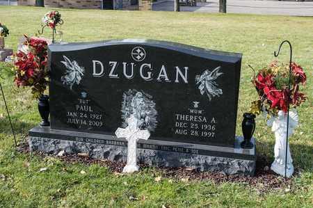 DZUGAN, THERESA A - Richland County, Ohio | THERESA A DZUGAN - Ohio Gravestone Photos