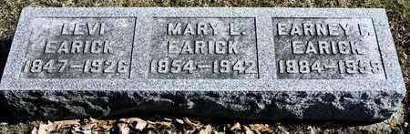 EARICK, MARY L - Richland County, Ohio | MARY L EARICK - Ohio Gravestone Photos
