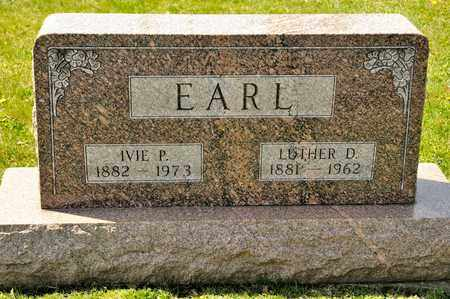 EARL, LUTHER D - Richland County, Ohio | LUTHER D EARL - Ohio Gravestone Photos